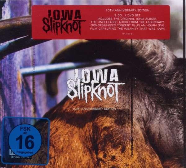 Slipknot Iowa 10th Anniversary Deluxe Edition 2cd