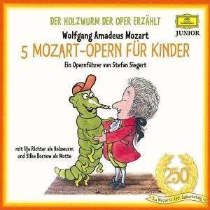 der holzwurm der oper erz hlt 5 mozart opern f r kinder 5 cds jpc. Black Bedroom Furniture Sets. Home Design Ideas