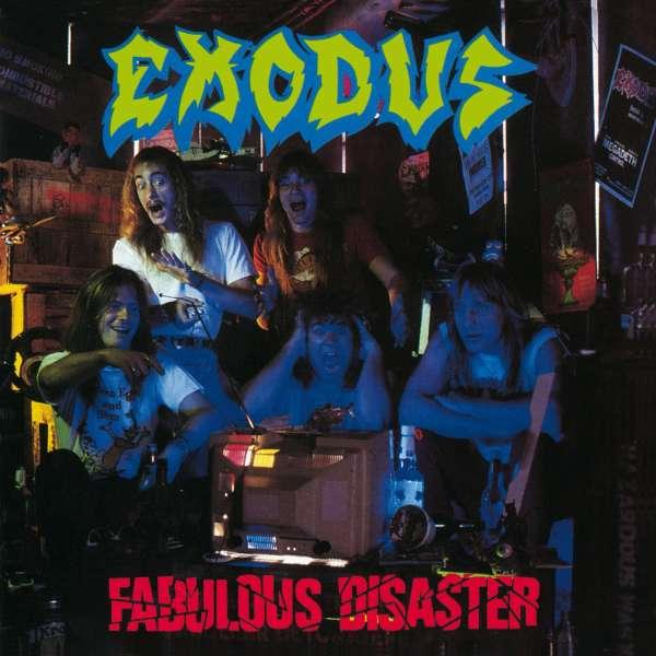 Exodus Fabulous Disaster Cd Jpc
