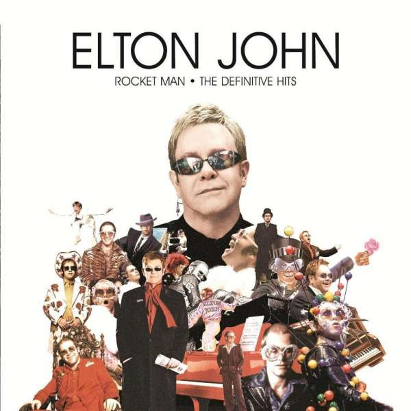 Elton John Rocket Man The Definitive Hits Cd Jpc
