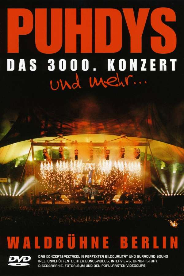puhdys live das 3000 konzert waldb hne berlin dvd. Black Bedroom Furniture Sets. Home Design Ideas