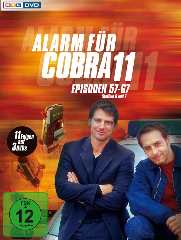 alarm f r cobra 11 staffeln 6 7 3 dvds. Black Bedroom Furniture Sets. Home Design Ideas