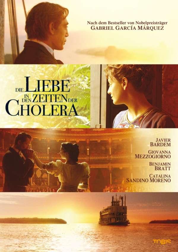 Die liebe in zeiten der cholera auf dvd