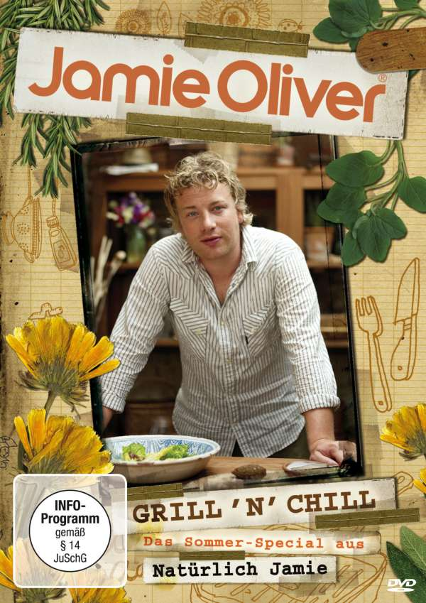 kochen jamie oliver grill 39 n 39 chill dvd jpc. Black Bedroom Furniture Sets. Home Design Ideas
