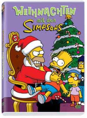 die simpsons weihnachten mit den simpsons dvd jpc. Black Bedroom Furniture Sets. Home Design Ideas