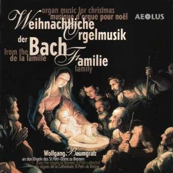 weihnachtliche orgelmusik der bach familie cd jpc. Black Bedroom Furniture Sets. Home Design Ideas