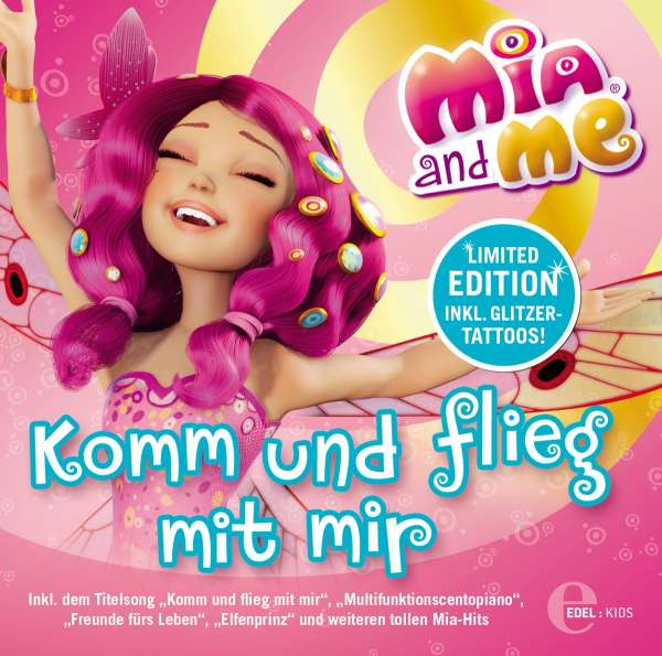 mia and me mia and me komm und flieg mit mir cd jpc. Black Bedroom Furniture Sets. Home Design Ideas