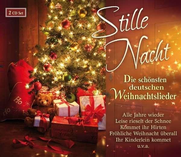 stille nacht die sch nsten deutschen weihnachtslieder 2 cds. Black Bedroom Furniture Sets. Home Design Ideas