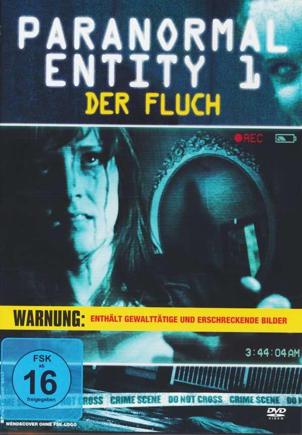 paranormal entity 1 der fluch dvd � jpc