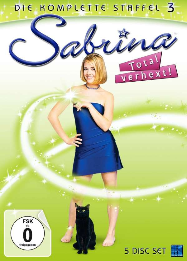 Sabrina - Total verhext Staffel 3 (5 DVDs) – jpc