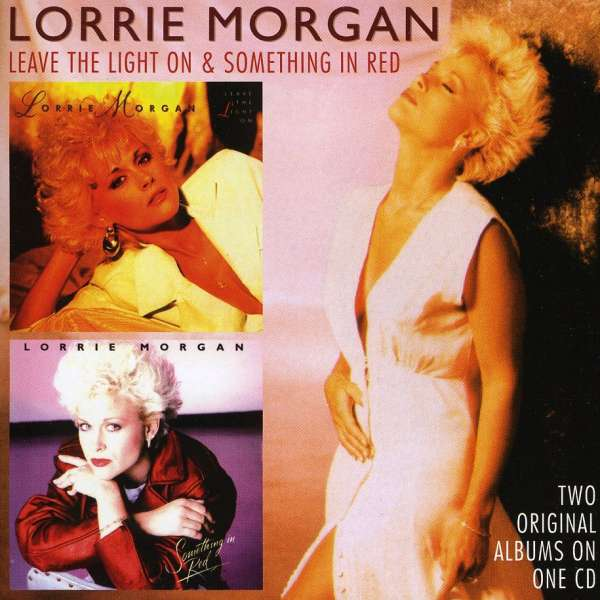 lorrie morgan leave the light on something in red two originals cd jpc. Black Bedroom Furniture Sets. Home Design Ideas
