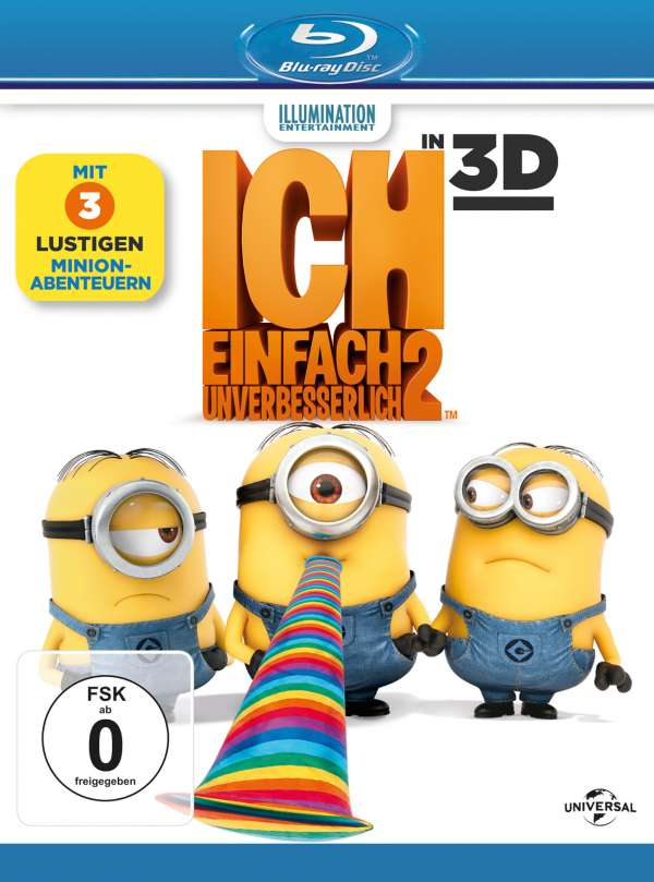 ich einfach unverbesserlich 2 3d 2d blu ray 2 blu ray discs jpc. Black Bedroom Furniture Sets. Home Design Ideas