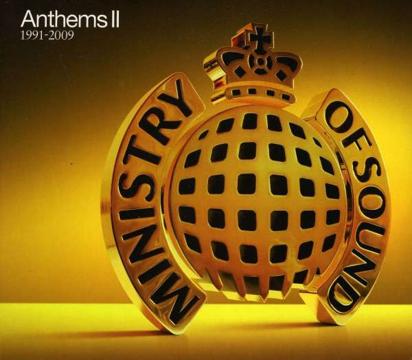Ministry Of Sound Anthems Ii 3 Cds Jpc