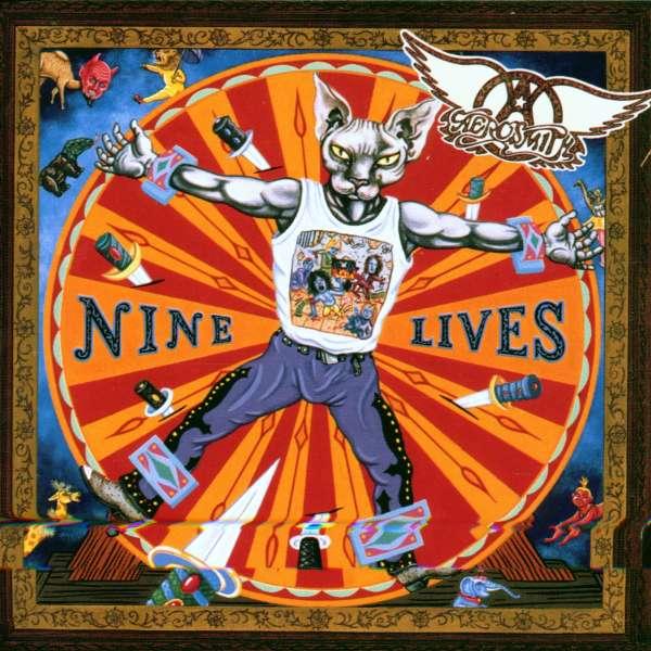 Aerosmith Nine Lives - Album Art Lyrics Genius Lyrics