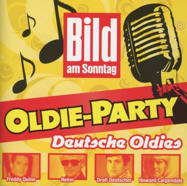 bild am sonntag oldie party deutsche oldies 2 cds jpc. Black Bedroom Furniture Sets. Home Design Ideas