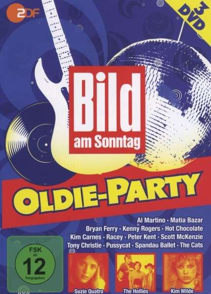 bild am sonntag oldie party 3 dvds jpc. Black Bedroom Furniture Sets. Home Design Ideas