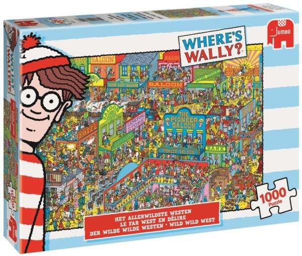 martin handford wo ist walter where 39 s wally der wilde wilde westen 1000 teile puzzle. Black Bedroom Furniture Sets. Home Design Ideas