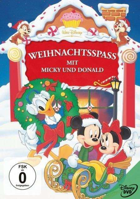 walt disney weihnachtsspa mit micky und donald dvd. Black Bedroom Furniture Sets. Home Design Ideas