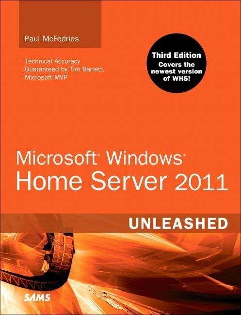 Paul Mcfedries Microsoft Windows Home Server 2011 border=