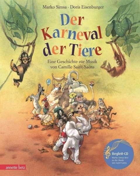 marko simsa der karneval der tiere mit cd buch  jpc