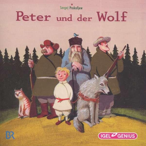 Sergej Prokofjew Peter Und Der Wolf Cd Jpc border=