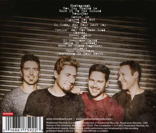 Nickelback the best of nickelback volume 1 cd jpc