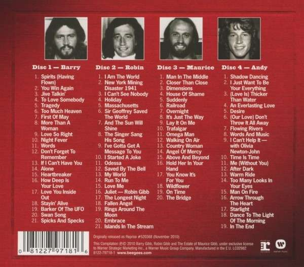 Bee Gees Mythology The 50th Anniversary Collection 4