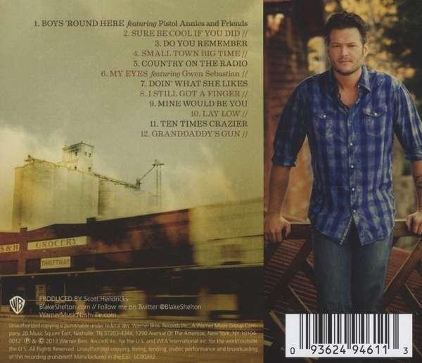 Blake Shelton Reloaded Cd >> Blake Shelton: Based On A True Story... (CD) – jpc