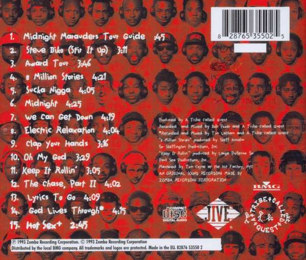 a tribe called quest midnight marauders cd � jpc