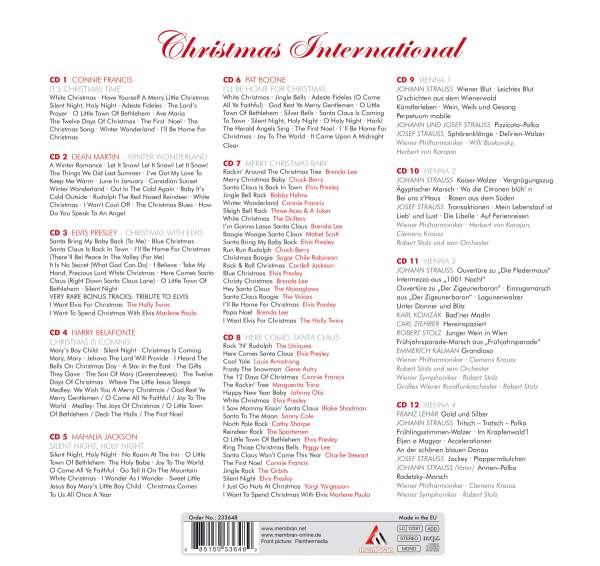 elvis presley christmas international 12 cds jpc. Black Bedroom Furniture Sets. Home Design Ideas