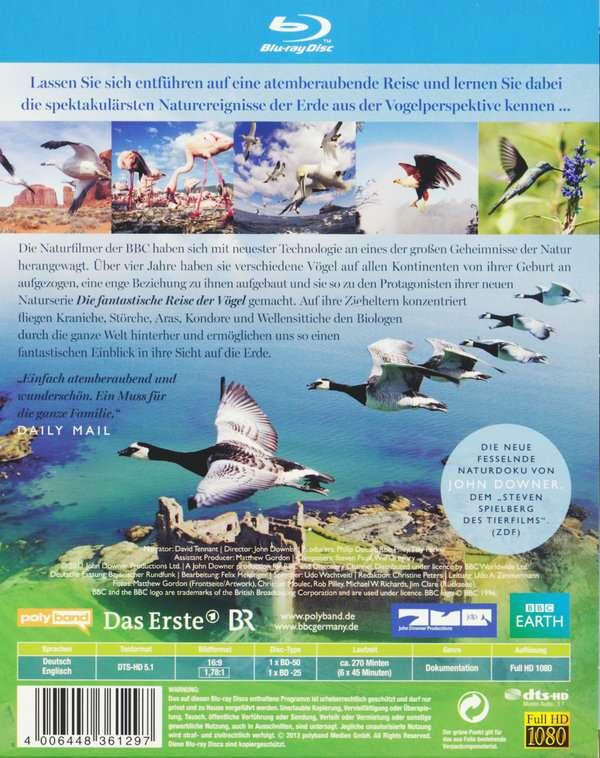Die fantastische reise der vögel (blu-ray)