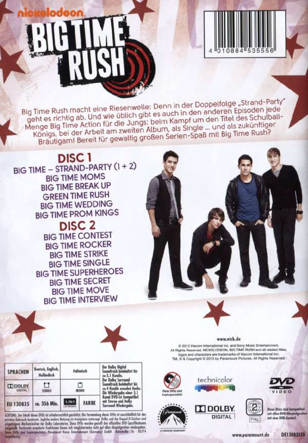 big time rush auf deutsch