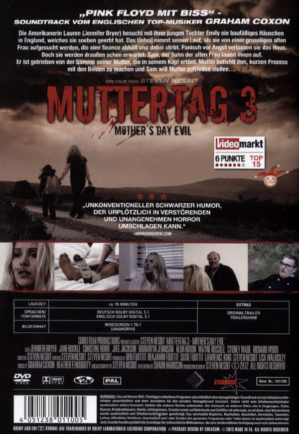 Muttertag 3 Mother S Day Evil Dvd Jpc