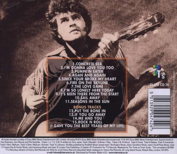 Terry Jacks - Concrete Sea / She Even Took The Cat
