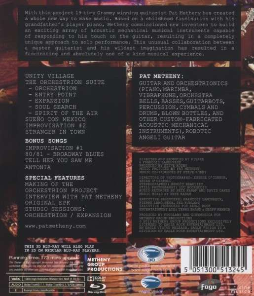pat metheny the orchestrion project disc jpc