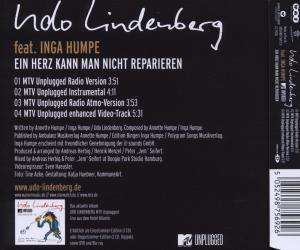Udo Lindenberg Ein Herz Kann Man Nicht Reparieren Maxi
