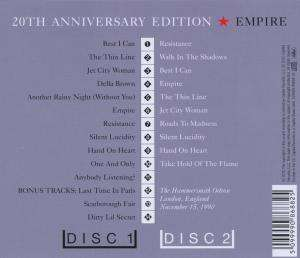 Queensryche Empire 20th Anniversary Edition Queensryche: Em...