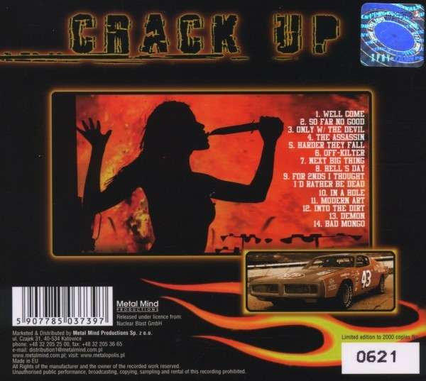 Crack Up Heads Will Roll Limited Edition Cd Jpc