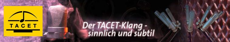 TACET Musikproduktion - More Power and Ideas- For Your Surround Music System!